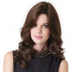 Amore Remy Human Hair Lace Front Wig Charlotte Wavy