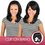 Anytime Synthetic Hair Clip-On Crown Bang S009