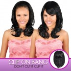 Anytime Synthetic Hair Clip-On Long Crown Bang S011