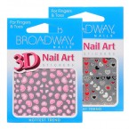 Broadway 3D Nail Art Stickers