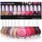 BeautyBenefits Color Addiction 10 Nail Polishes 2.2oz