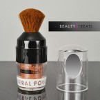 Beauty Treat Mineral Powder with Brush Dark 4.5g (0.15oz)
