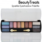 Square Palette Assortied Color Sparkle Eyeshadow