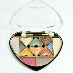 Heart Assortied Color Shiny Eyeshadow