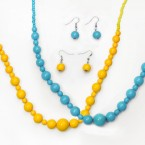 Colorful Bead Necklace-Choose Your Color!