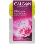 Calgon English Garden Bubbly Bath Fizzy Set