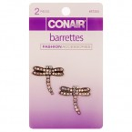 Conair Fashion Accessories Barrettes 2Pcs