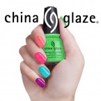 China Glaze Nail Lacquer with Hardeners 0.5oz