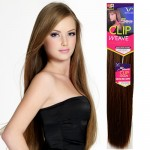 "Synthetic Clip on Weave Vivica Fox Yaky Clip (9pcs)14""~18"""