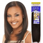 Clip on Weave Milky Way 100% Human Hair Clip Hair 18 (7Pcs)