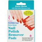CALICO Super Pad Nail Polish Remover Pads 6Pcs