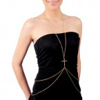 Cross Trend Layered Body Chain-Choose Your Favorite!