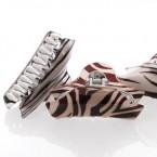 Classic Zebra Print Hair Claw Clip