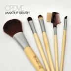 Creme Shop Bamboo 5 Pcs Makeup Brush Set