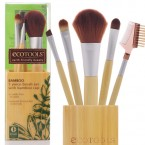 ECOTOOLS Bamboo 5piece Brush Set with Bamboo Cup