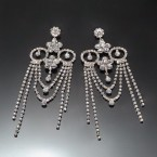 Princess Shine Rhinestone Earrings