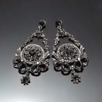 Dark Romance Chandelier Earrings