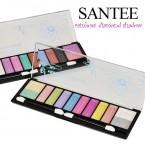 SANTEE Rainbow Diamond Shadow 12 Colors Eyeshadow