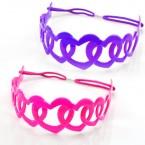 Flexible Plastic Heart Headband