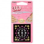 Fingrs 3D Nail & Toe Art 2 sheets