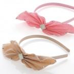 Fabric Bow Headband