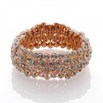 Foldable Big Rhinestone Stretch Bracelet