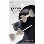 Goody Luxe Ansley Ribbon Bobby Slides 2pcs