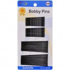 Gabriella Bobby Pins Black 50Pcs