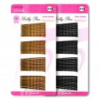 Gabriella Bobby Pins Black 60Pcs