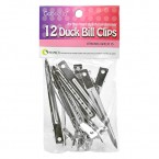Gabriella Duck Bill Clips 12Pcs
