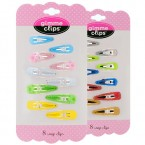 Gimme Clips Girl's Snap Clips 10pcs