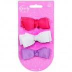 Goody Grils Fabric Ribbons Barrettes 3pcs