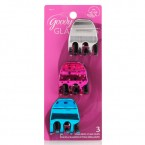 Goody Glam Girls Star Brite Claw Clips 3 pc