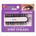 Gabriella Premium Human Hair Strip Eyelashes
