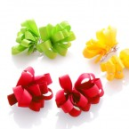 Grosgrain Ribbon Flower Hair Auto Clips