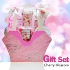 Cherry Blossom Bath & Body 6 Pcs Gift Set