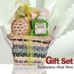 Eucalyptus Aloe Vera Bath & Body 6 Pcs Gift Set