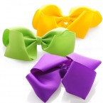 Grosgrain Volumized Bow Hair Clips