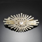 Rhinestone Designed Auto Hair Clip