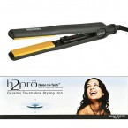H2PRO Nano Hi-Tech Ceramic Tourmaline Styling Iron (Black)