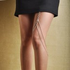 Hottest New Trend Fashion Leg Chain-Silver Tone