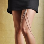 Hottest New Trend Fancy Leg Chain-Silver Tone