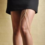Hottest New Trend Fancy Leg Chain-Gold Tone