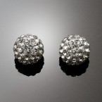 Mirror Ball Rhinestone Earrings-Choose Your Favorite!