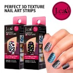 J.CAT BEAUTY Perfect 3D Texture Nail Art Strips
