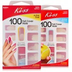 Kiss 100 Full Cover Nails - Active Square