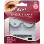 Kiss Deluxe Eyelash Kit-Flirty XX Length