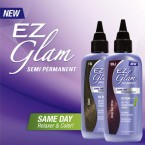 Kiss EZ Glam Semi Permanent Same day Relaxer & Color