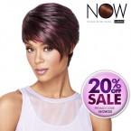 LUXHAIR NOW By Sherri Shepherd Synthetic Hair Wig Sleek Angle