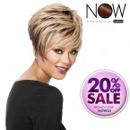 LUXHAIR NOW By Sherri Shepherd Synthetic Hair Wig Stacked Bob